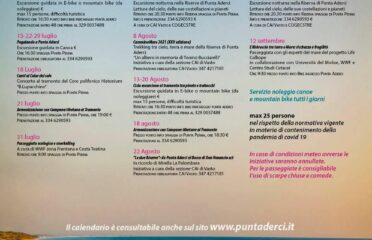 Calendario Eventi Riserva Naturale Punta Aderci