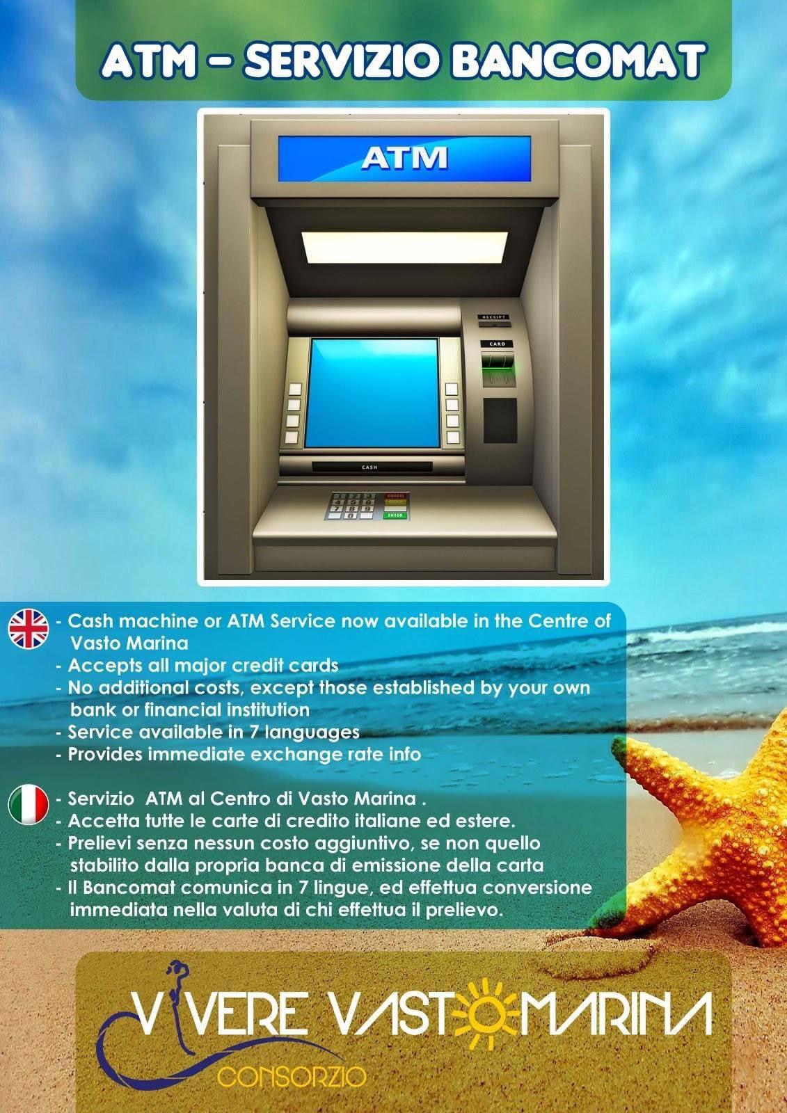 ATM-SERVIZIO BANCOMAT VASTO MARINA